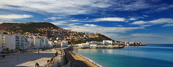 Front de mer à Alger