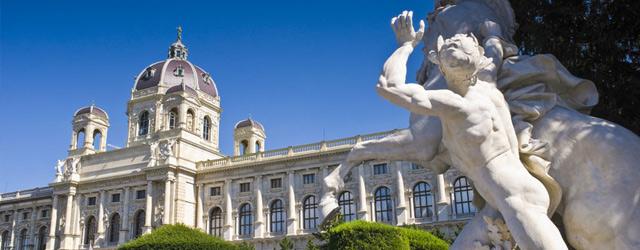 Vue du musée de l'Histoire de l'Art de Vienne