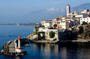 Vue de Bastia