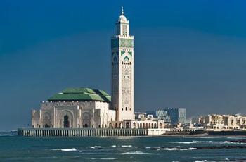 Vue de la Mosquée Hassan II